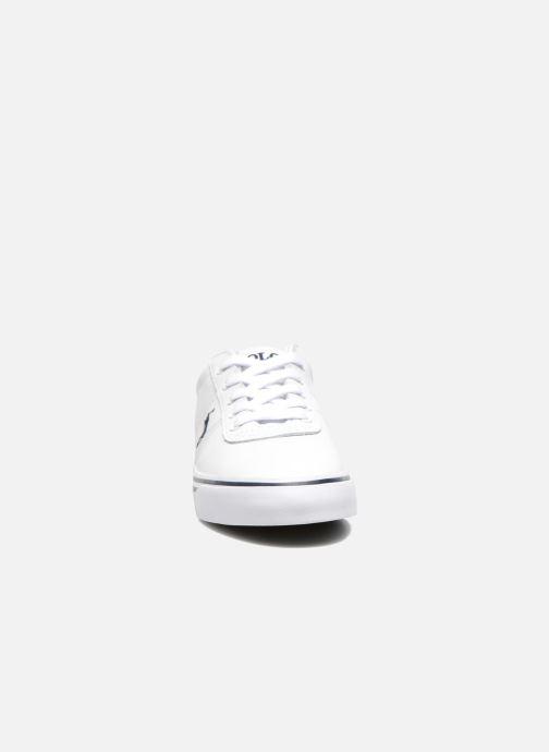 Baskets Polo Ralph Lauren Hanford Blanc vue portées chaussures