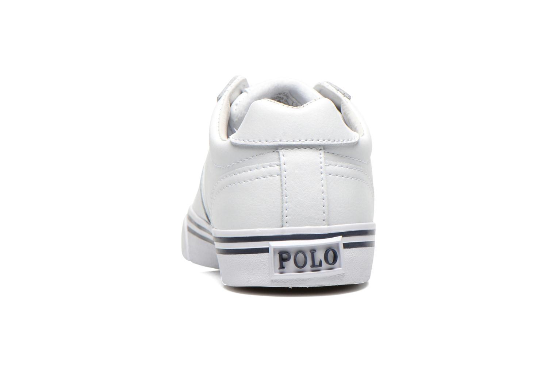 Sneakers Polo Ralph Lauren Hanford Vit Bild från höger sidan
