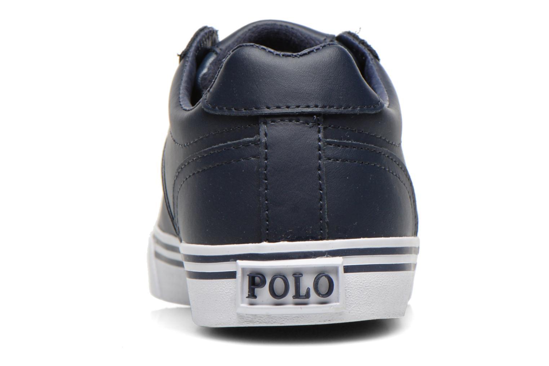 Baskets Polo Ralph Lauren Hanford Bleu vue droite