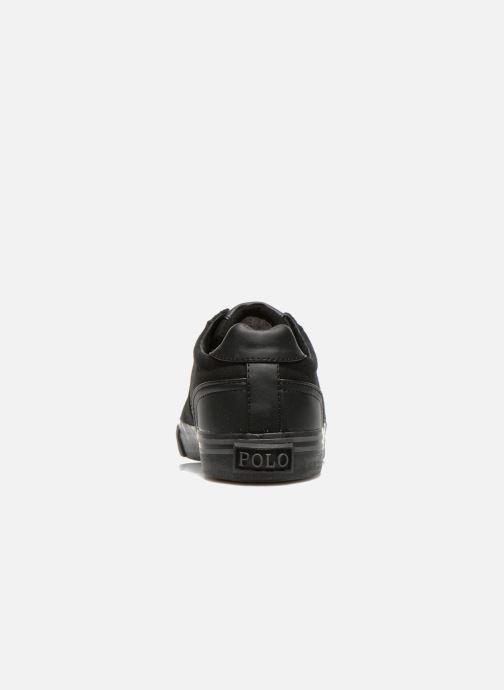 Baskets Polo Ralph Lauren Hanford-Ne Noir vue droite