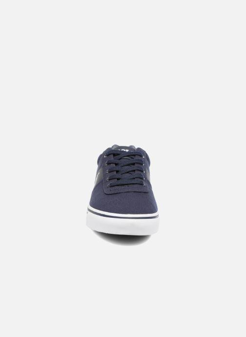 Sneakers Polo Ralph Lauren Hanford-Ne Azzurro modello indossato