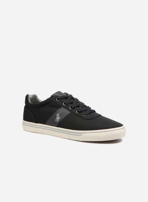 Baskets Polo Ralph Lauren Hanford-Ne Gris vue détail/paire