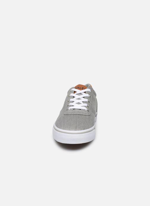 Baskets Polo Ralph Lauren Hanford-Ne Gris vue portées chaussures