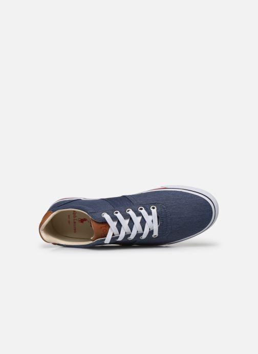 Sneaker Polo Ralph Lauren Hanford-Ne blau ansicht von links