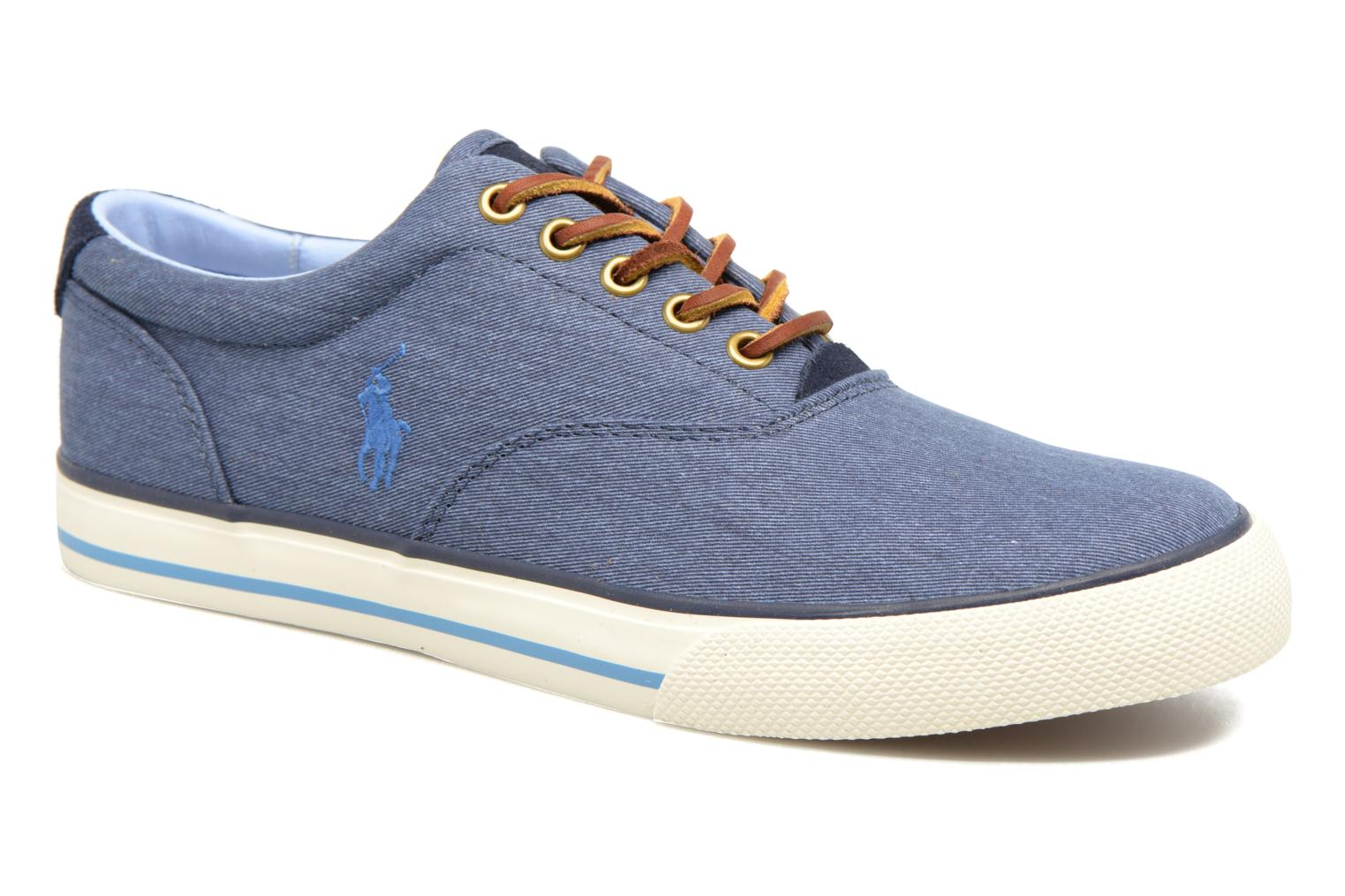 Sneakers Polo Ralph Lauren Vaughn-Ne Blauw detail