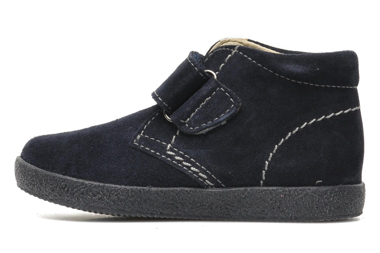 Zapatos con velcro Naturino Mimix 246 Azul vista de frente