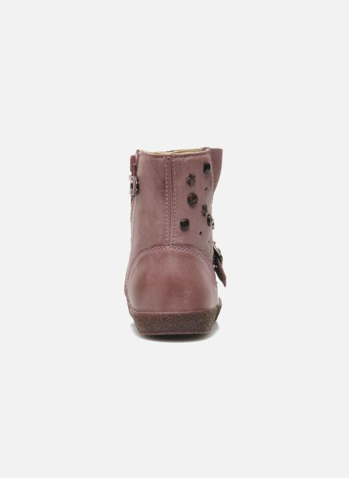 Boots & wellies Naturino Choupi 1341 Pink view from the right