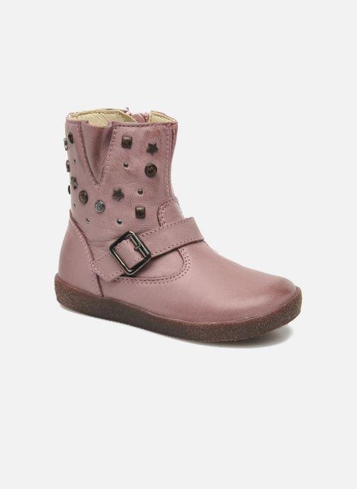 Boots & wellies Naturino Choupi 1341 Pink detailed view/ Pair view
