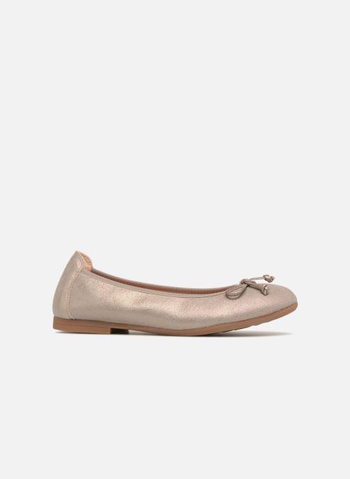 Ballerinas Unisa CASIA gold/bronze ansicht von hinten