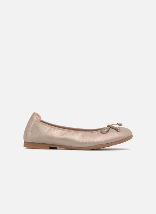 Ballet pumps Unisa CASIA Bronze and Gold back view