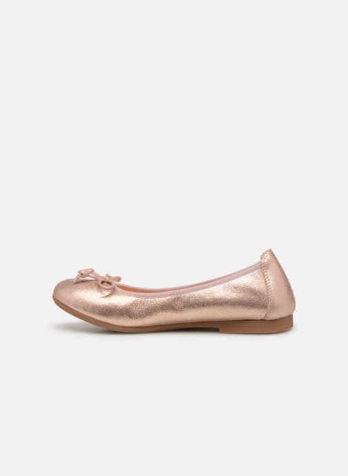 Ballerinas Unisa CASIA silber ansicht von vorne