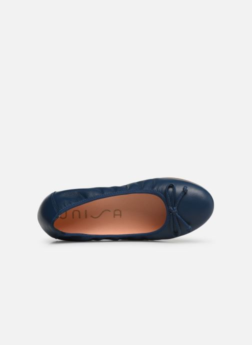 Ballet pumps Unisa CASIA Blue view from the left