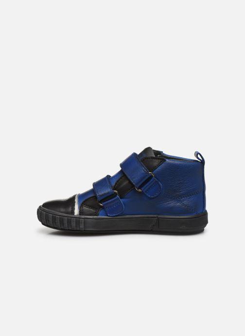 Schoenen met klitteband Acebo's Titoil Blauw voorkant