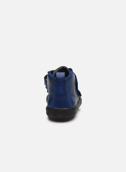 Schoenen met klitteband Acebo's Titoil Blauw rechts