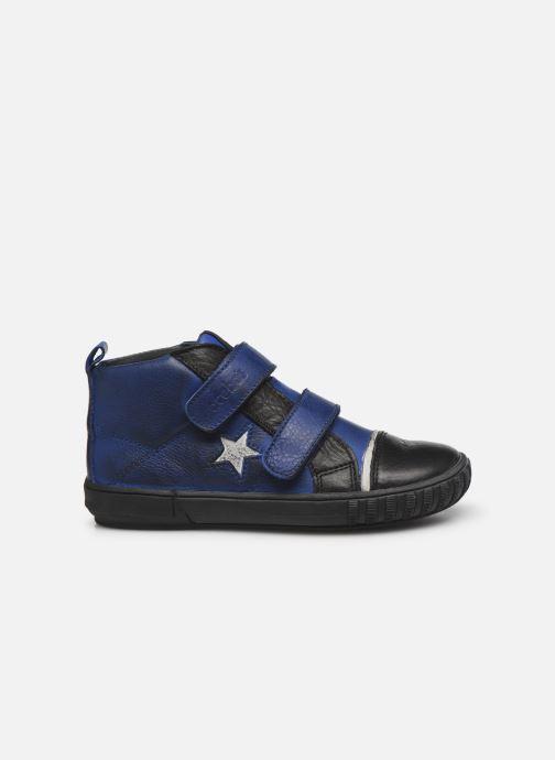 Schoenen met klitteband Acebo's Titoil Blauw achterkant
