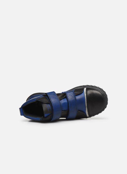 Schoenen met klitteband Acebo's Titoil Blauw links