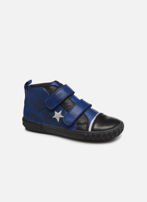 Schoenen met klitteband Acebo's Titoil Blauw detail