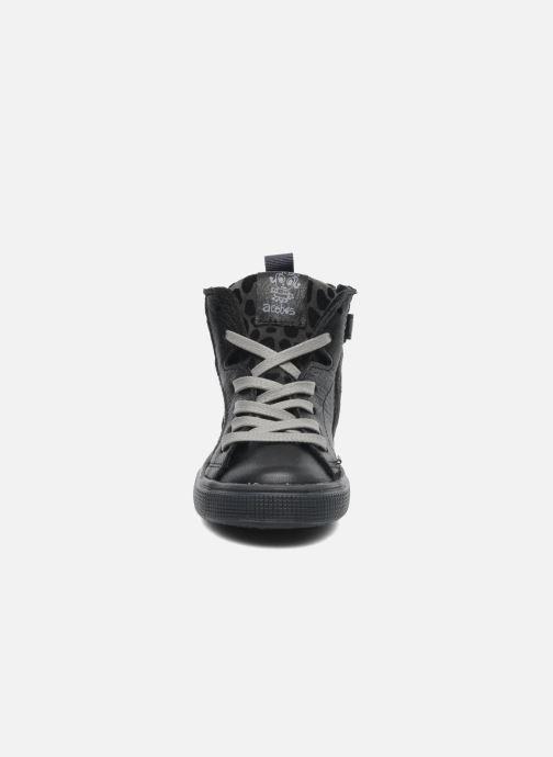 Baskets Acebo's Modinette Noir vue portées chaussures