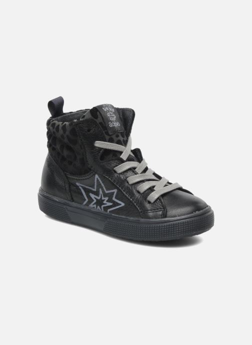 Sneakers Acebo's Modinette Sort detaljeret billede af skoene