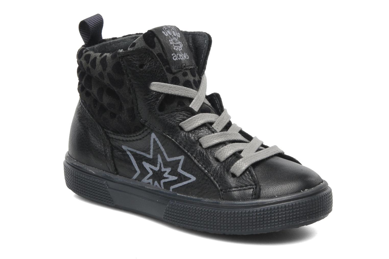 Sneakers Acebo's Modinette Zwart detail