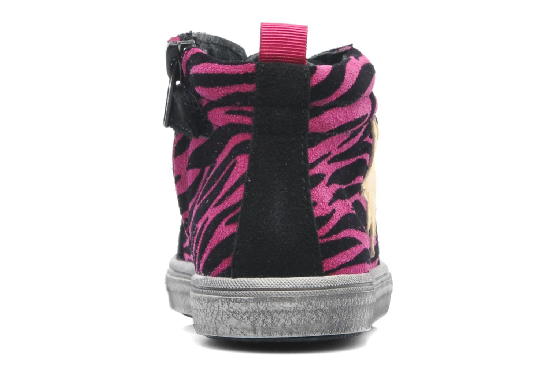 Sneaker Acebo's Musttt rosa ansicht von rechts