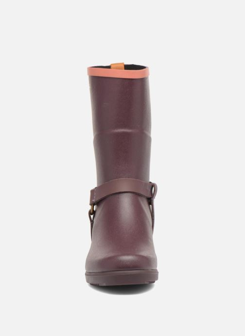 Ankle boots Aigle Miss Julie Purple model view