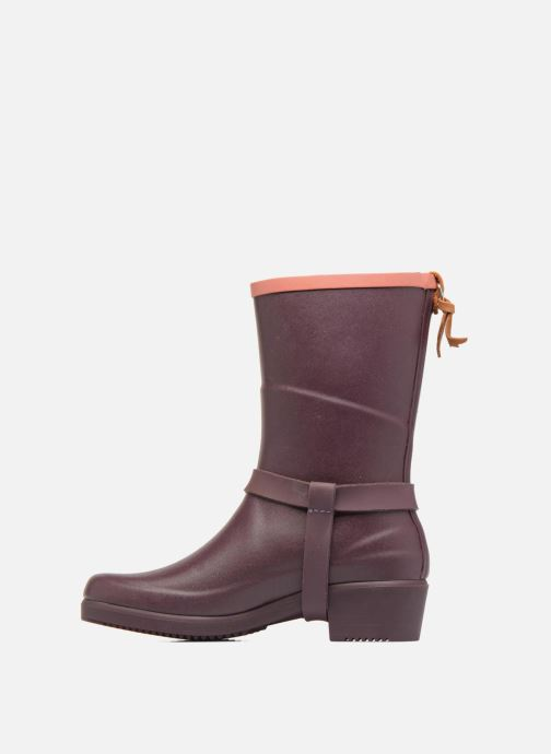 Ankle boots Aigle Miss Julie Purple front view