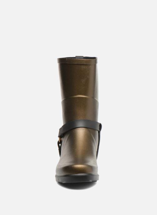 Bottines et boots Aigle Miss Julie Or et bronze vue portées chaussures