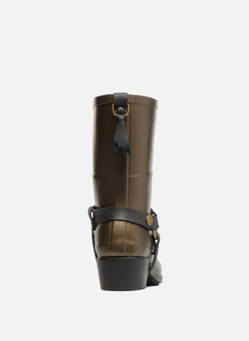 Bottines et boots Aigle Miss Julie Or et bronze vue droite