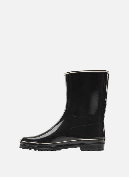 Boots en enkellaarsjes Aigle Venise Bottillon Zwart voorkant