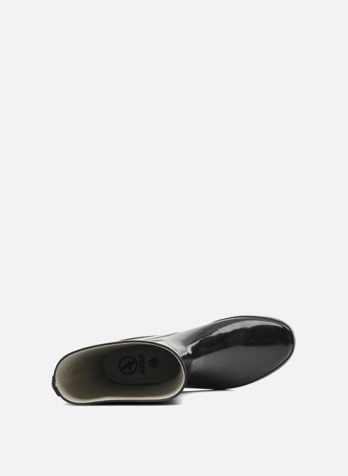 Boots en enkellaarsjes Aigle Venise Bottillon Zwart links