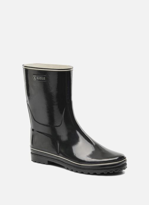 Boots en enkellaarsjes Aigle Venise Bottillon Zwart detail