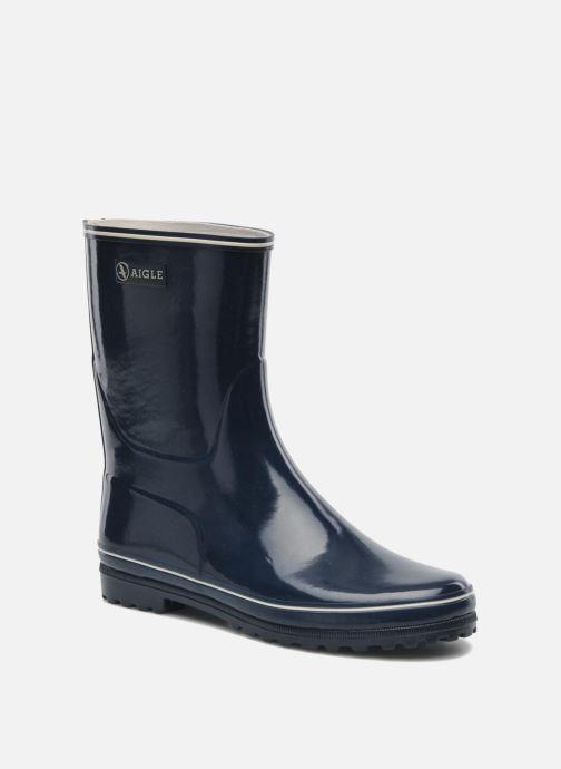 Bottines et boots Aigle Venise Bottillon Bleu vue détail/paire