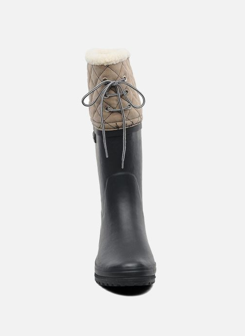 Boots & wellies Aigle Polka Giboulee Blue model view