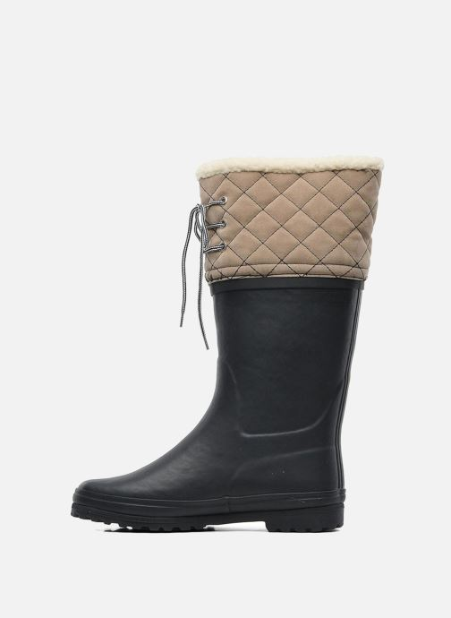 Boots & wellies Aigle Polka Giboulee Blue front view