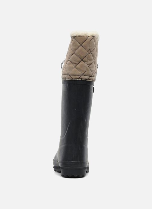 Boots & wellies Aigle Polka Giboulee Blue view from the right