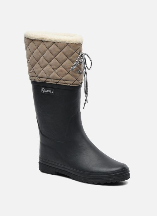 Boots & wellies Aigle Polka Giboulee Blue detailed view/ Pair view
