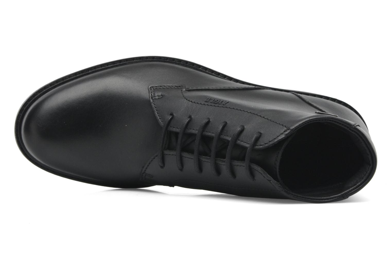 Chaussures à lacets Aigle Britten Mid Gtx Noir vue gauche