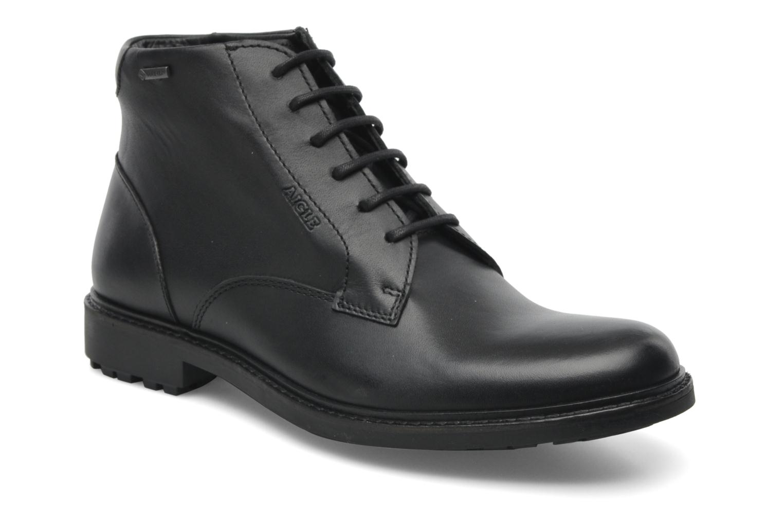 Chaussures à lacets Aigle Britten Mid Gtx Noir vue détail/paire