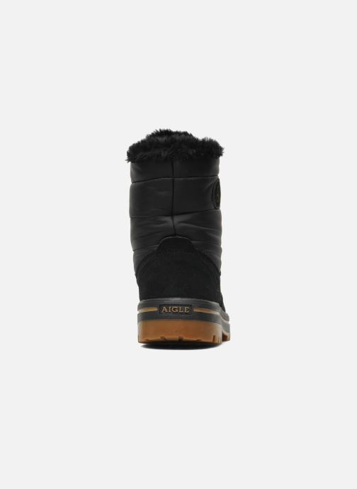 Boots en enkellaarsjes Aigle Welby Zwart rechts