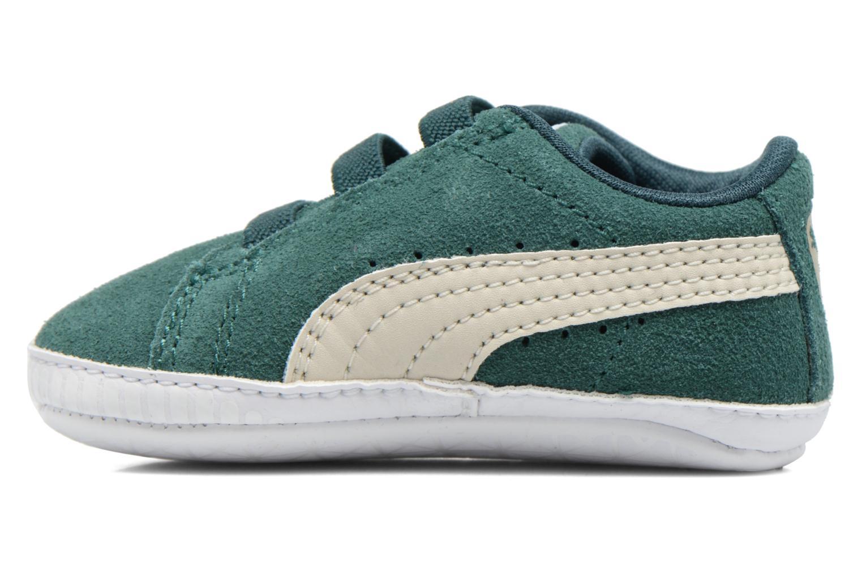 Sneakers Puma Suede Crib Grön Bild från höger sidan
