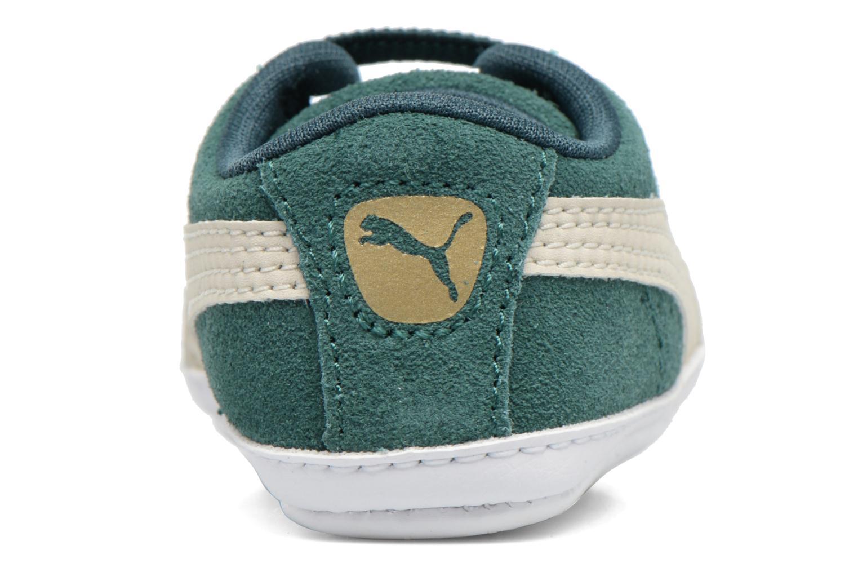 Sneakers Puma Suede Crib Grön bild från baksidan