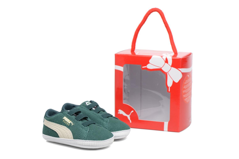 Sneakers Puma Suede Crib Grön detaljerad bild på paret