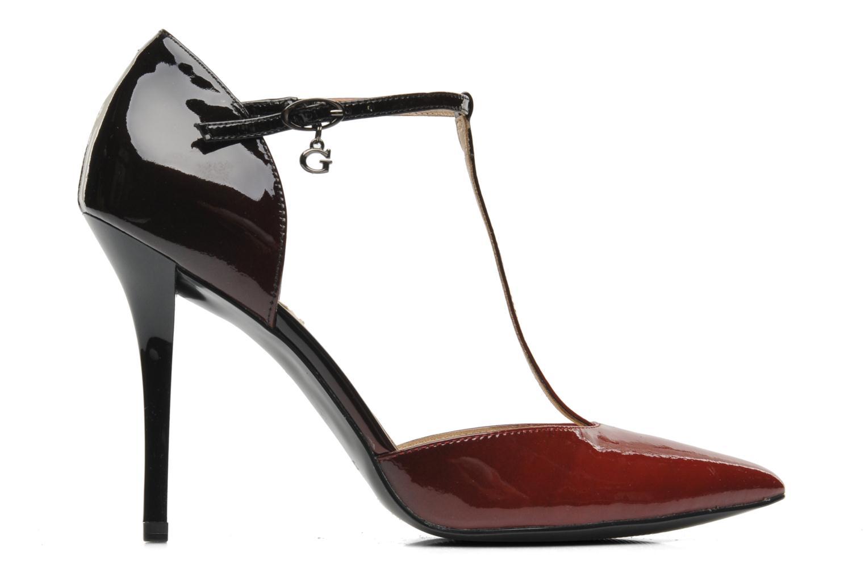 Zapatos de tacón Guess Teren Rojo vistra trasera
