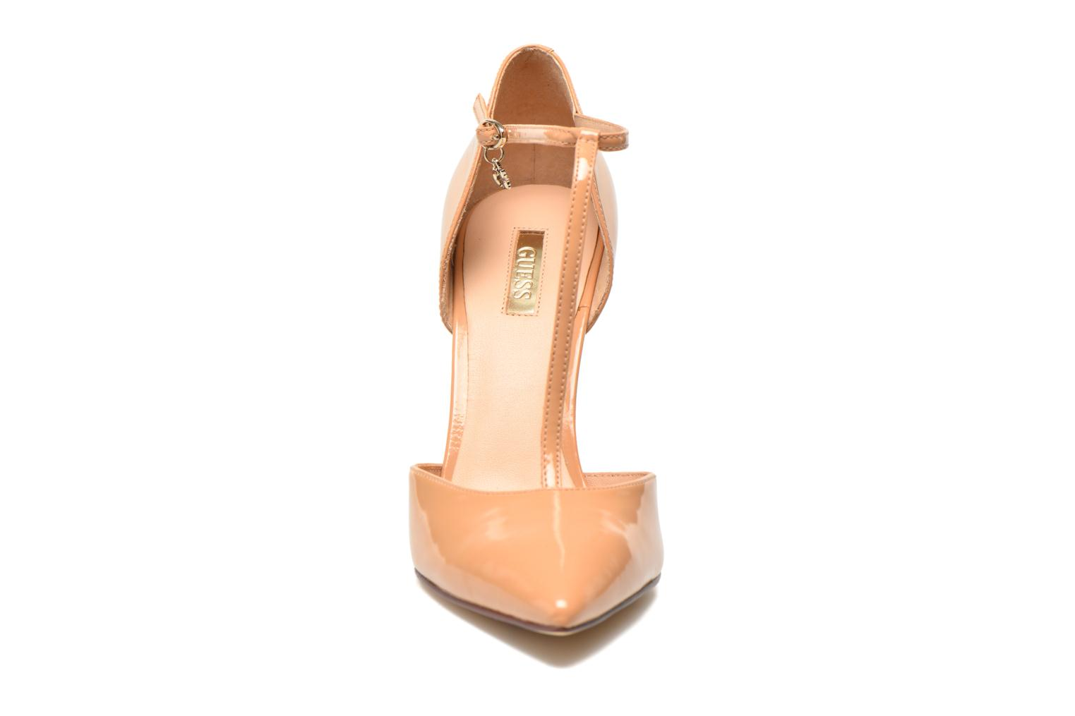 High heels Guess Teren Beige model view