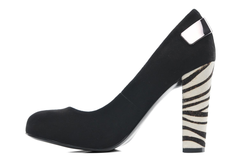 Zapatos de tacón Guess Baldia Negro vista de frente