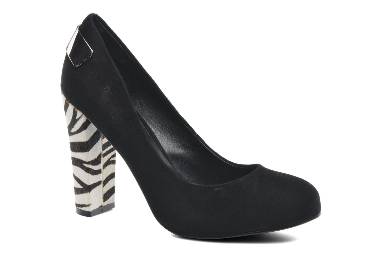 Zapatos de tacón Guess Baldia Negro vista de detalle / par