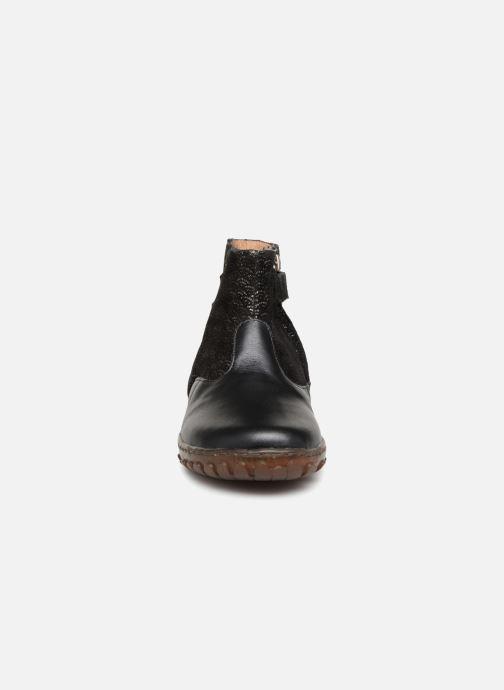 Bottines et boots Pom d Api CUTE BOOTS CAT Noir vue portées chaussures