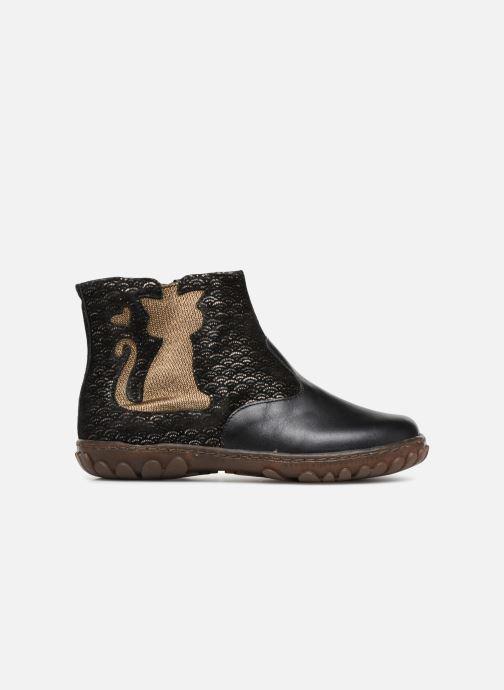 Bottines et boots Pom d Api CUTE BOOTS CAT Noir vue derrière