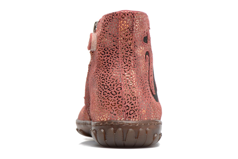 Bottines et boots Pom d Api CUTE BOOTS CAT Rose vue droite